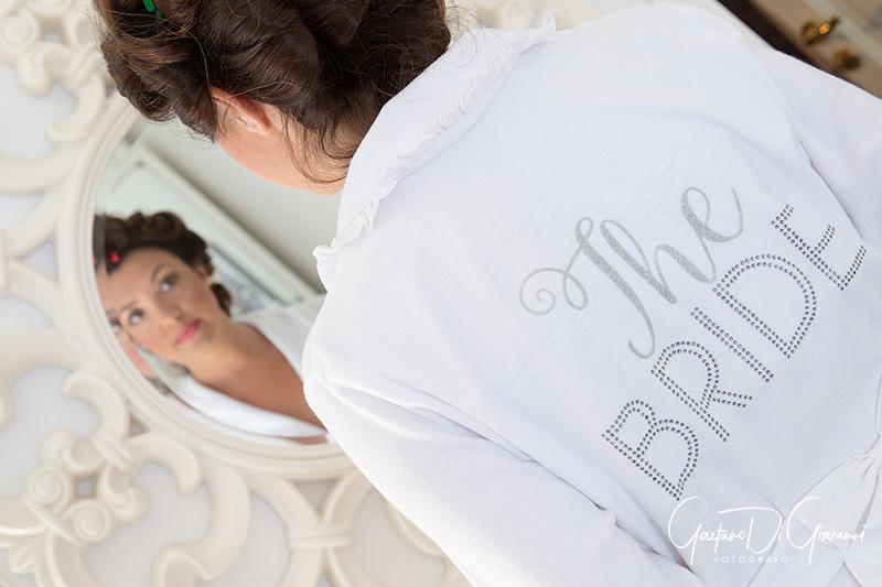 matrimonio a Stromboli: sposa