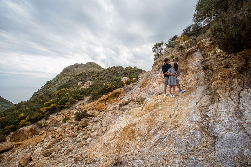 futuri sposi a lipari cave di caolino