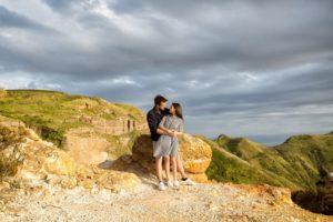 coppia prematrimoniale cave di caolino