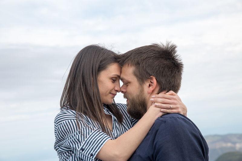 foto di coppia prematrimoniale a lipari