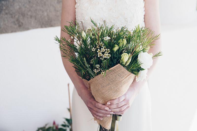 Matrimonio a Lipari: bouquet sposa