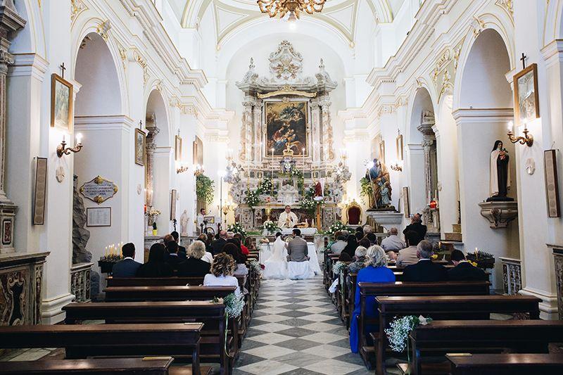 Matrimonio a Lipari: chiesa san giuseppe