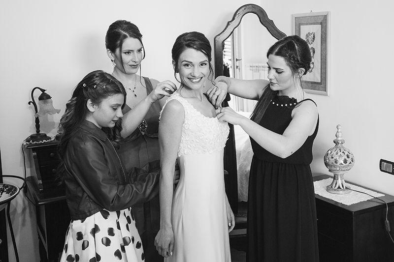 Matrimonio a Lipari: preparativi sposa