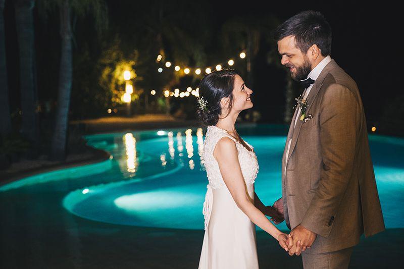 Matrimonio a Lipari: villa enrica festa degli sposi