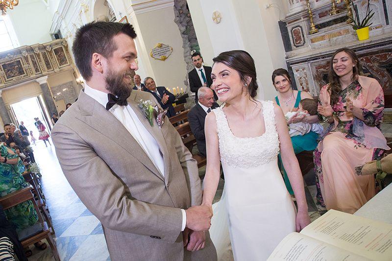 Matrimonio a Lipari: celebrazione in chiesa