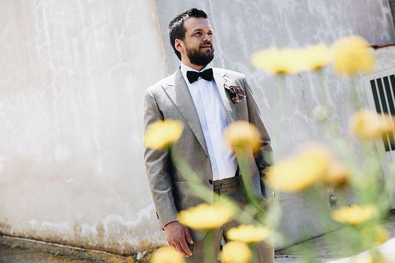 Matrimonio a Lipari: sposo