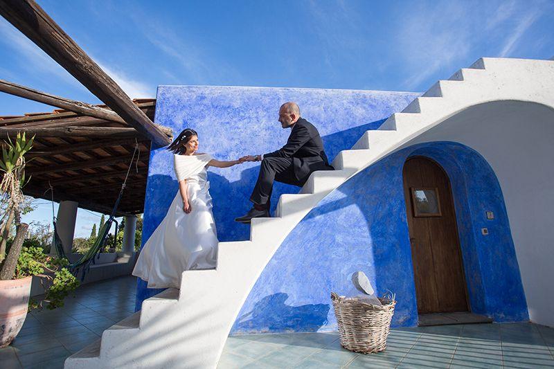 sposi casa tipica di lipari