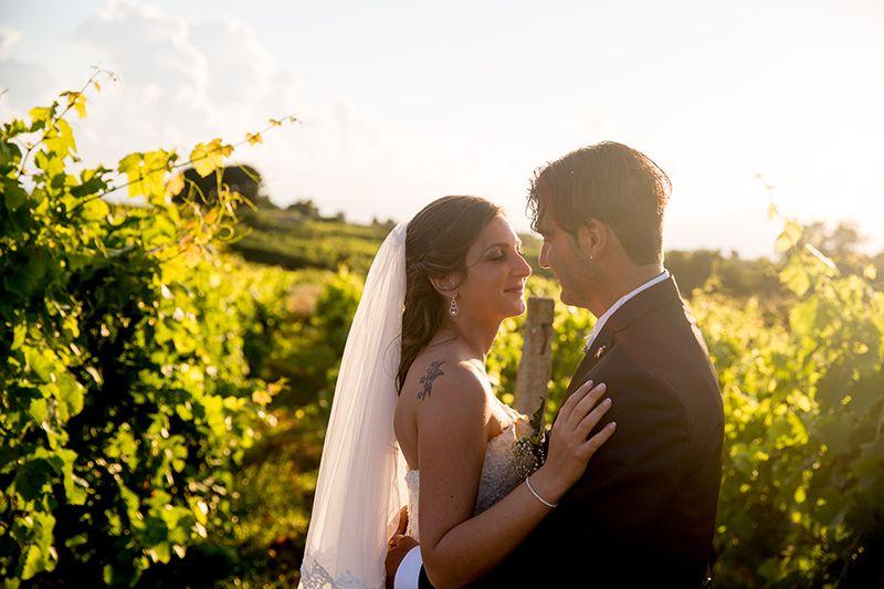 sposi in vigna