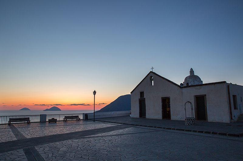 tramonto chiesa vecchia
