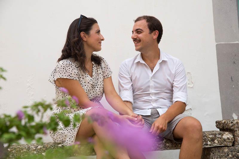 futuri sposi prima del matrimonio a lipari